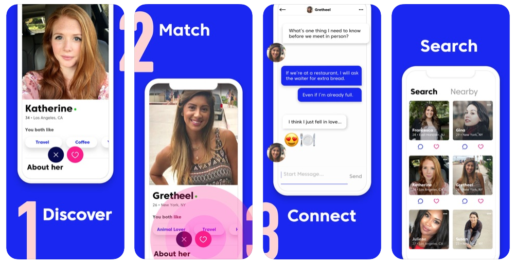 Discover Match Connect Search