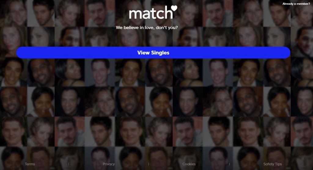 oldest dating website match.com