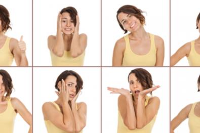body language of women